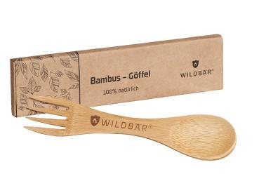 Bambusgöffel aus 100% natürlichem Bambus